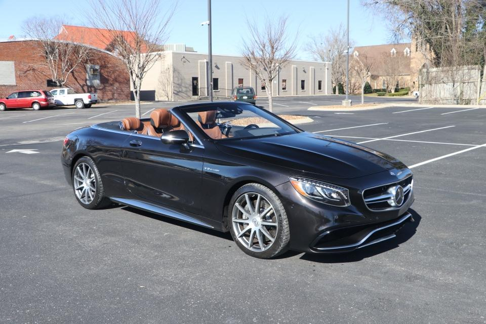 Used 2017 Mercedes-Benz S63 AMG 4MATIC CABRIOLET AWD W/NAV for sale Sold at Auto Collection in Murfreesboro TN 37130 1