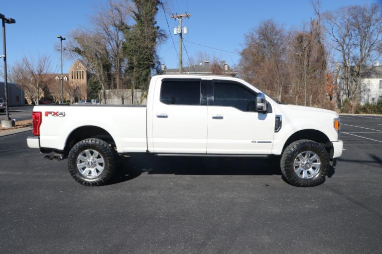 Used 2017 Ford F-250 SD PLATINUM ULTIMATE 4X4 DIESEL CREW CAB W/N PLATINUMCREW CAB 4WD for sale Sold at Auto Collection in Murfreesboro TN 37130 8