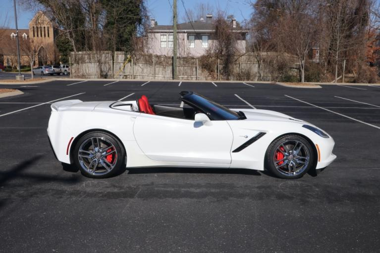 Used 2014 Chevrolet CORVETTE STINGRAY Z51 3LT CONVERTIBLE W/NAV Z51 3LT CONVERTIBLE for sale Sold at Auto Collection in Murfreesboro TN 37130 8
