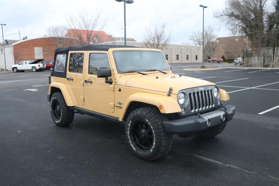 Used 2014 JEEP WRANGLER UNLIMITED FREEDOM EDITION 4WD Unlimited sport 4x4 for sale Sold at Auto Collection in Murfreesboro TN 37130 1
