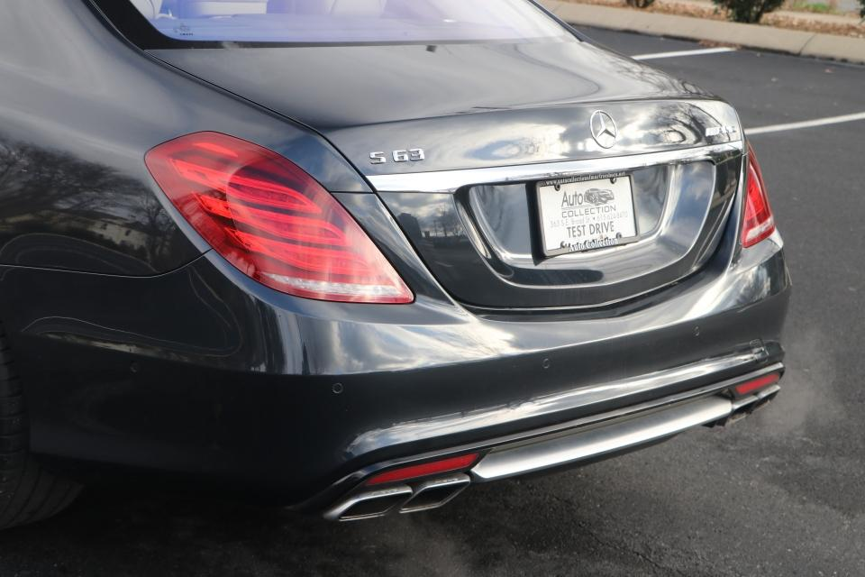 Used 2015 Mercedes-Benz S63 AMG 4MATIC AWD W/NAV S63 AMG 4MATIC For Sale ($69,950)   Auto ...