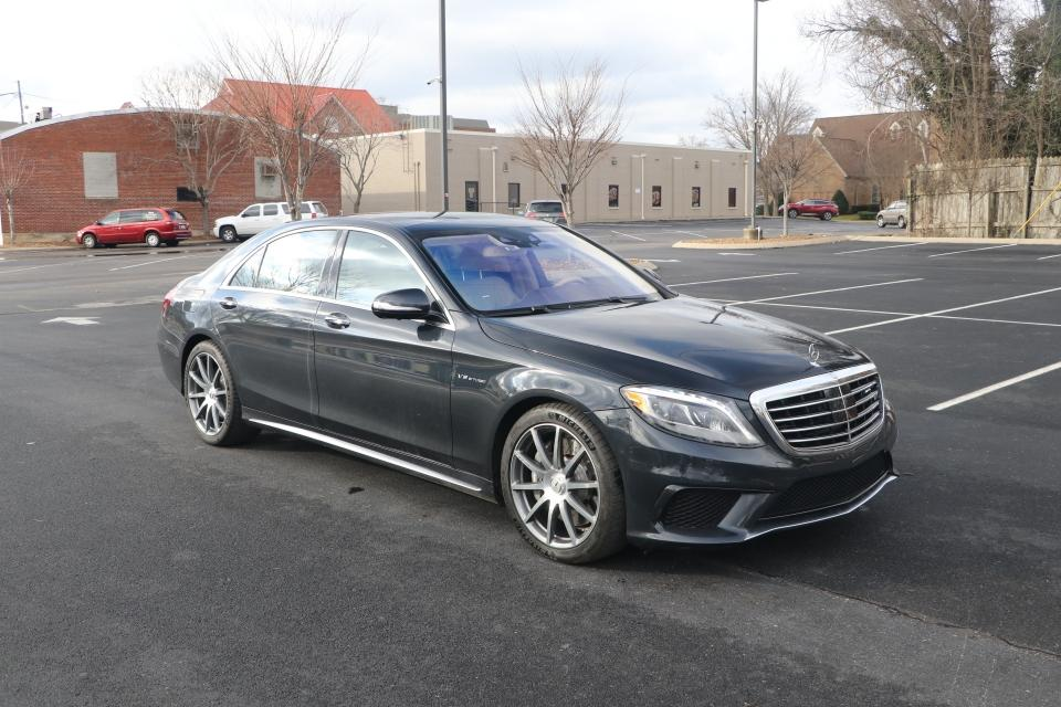 Used 2015 Mercedes-Benz S63 AMG 4MATIC AWD W/NAV for sale $69,950 at Auto Collection in Murfreesboro TN 37130 1