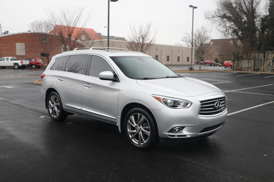 Used 2014 Infiniti QX60 Hybrid AWD W/Deluxe Tech W/NAV for sale Sold at Auto Collection in Murfreesboro TN 37130 1