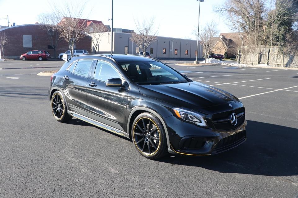 Used 2018 Mercedes-Benz GLA-45 AMG PREMIUM 4MATIC W/NAV GLA45 AMG 4MATIC for sale $45,950 at Auto Collection in Murfreesboro TN 37130 1