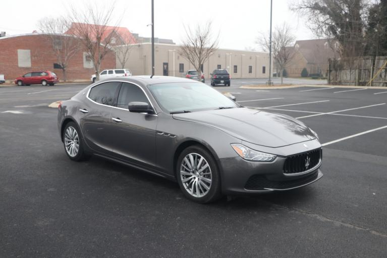 Used Used 2015 MASERATI GHIBLI S Q4 AWD W/NAV S Q4 for sale $28,950 at Auto Collection in Murfreesboro TN