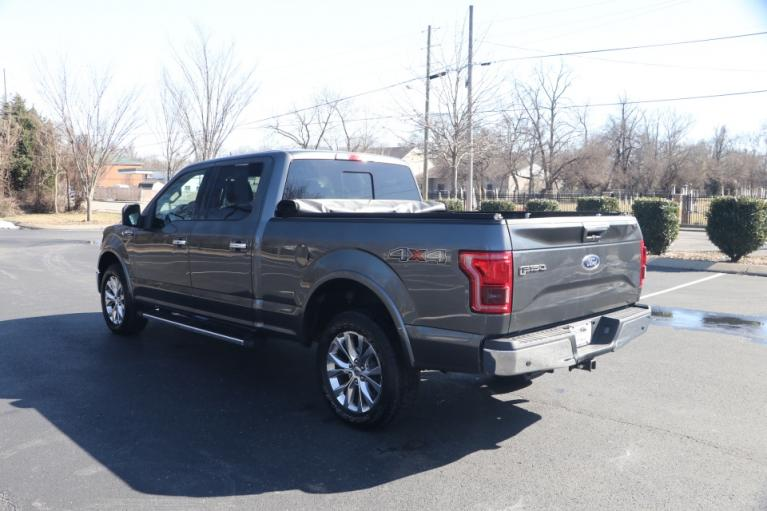 Used 2016 Ford F-150 LARIAT 4X4 SUPERCREW W/NAV LARIAT SUPERCREW 5.5-FT. BED 4WD for sale $31,950 at Auto Collection in Murfreesboro TN 37130 4