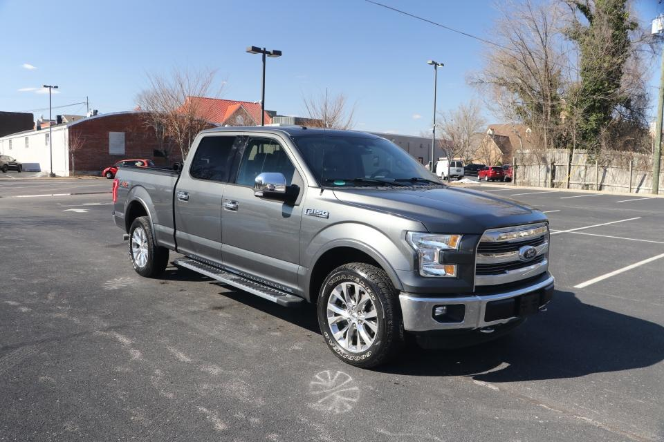 Used 2016 Ford F-150 LARIAT 4X4 SUPERCREW W/NAV for sale Sold at Auto Collection in Murfreesboro TN 37130 1