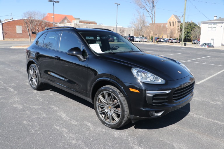 Used Used 2018 Porsche CAYENNE PLATINUM EDITION AWD W/NAV BASE for sale $50,950 at Auto Collection in Murfreesboro TN