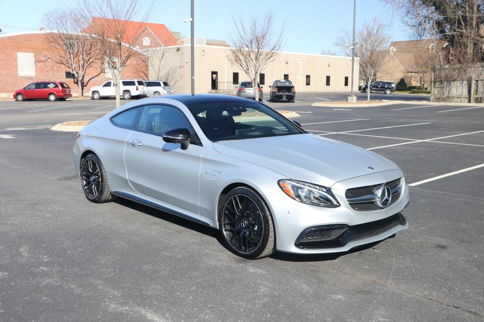 Used 2018 Mercedes-Benz C63 AMG COUPE RWD W/NAV for sale $57,950 at Auto Collection in Murfreesboro TN 37130 1