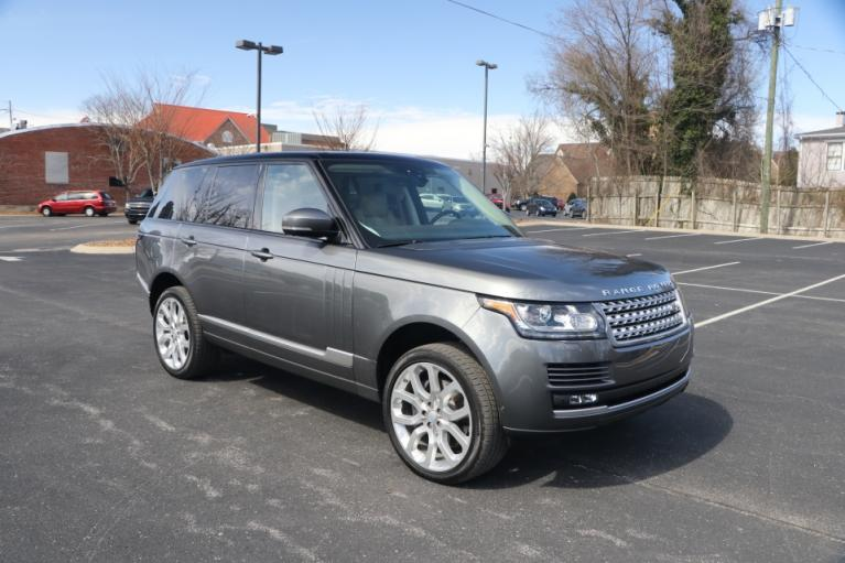Used Used 2017 Land Rover RANGE ROVER 5.0 SUPERCHARGED AWD W/NAV for sale $68,950 at Auto Collection in Murfreesboro TN