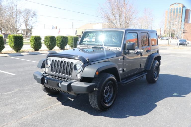 Used 2017 Jeep WRANGLER UNLIMITED SPORT 4WD W/UPGRADES UNLIMITED SPORT 4WD for sale Sold at Auto Collection in Murfreesboro TN 37130 2