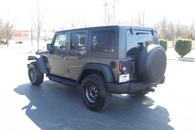 Used 2017 Jeep WRANGLER UNLIMITED SPORT 4WD W/UPGRADES UNLIMITED SPORT 4WD for sale Sold at Auto Collection in Murfreesboro TN 37130 4