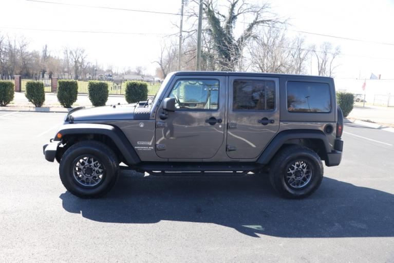 Used 2017 Jeep WRANGLER UNLIMITED SPORT 4WD W/UPGRADES UNLIMITED SPORT 4WD for sale Sold at Auto Collection in Murfreesboro TN 37130 7