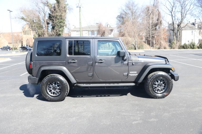 Used 2017 Jeep WRANGLER UNLIMITED SPORT 4WD W/UPGRADES UNLIMITED SPORT 4WD for sale Sold at Auto Collection in Murfreesboro TN 37130 8