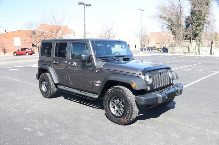 Used Used 2017 Jeep WRANGLER UNLIMITED SPORT 4WD W/UPGRADES UNLIMITED SPORT 4WD for sale $28,950 at Auto Collection in Murfreesboro TN