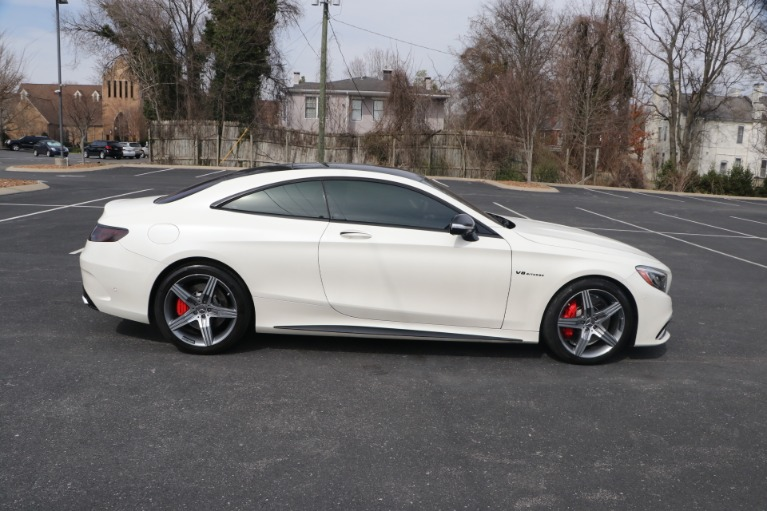 Used 2017 Mercedes-Benz S63 AMG COUPE AWD W/NAV for sale $94,950 at Auto Collection in Murfreesboro TN 37130 8