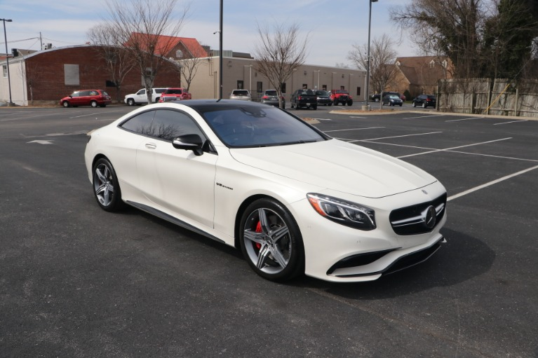 Used 2017 Mercedes-Benz S63 AMG COUPE AWD W/NAV for sale $94,950 at Auto Collection in Murfreesboro TN 37130 1