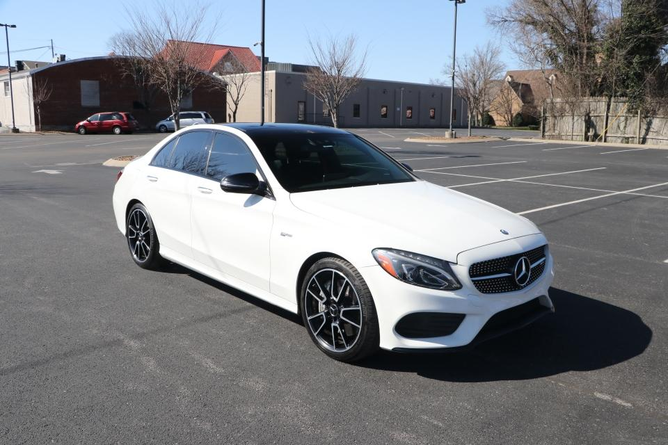 Used 2017 Mercedes-Benz C43 AMG 4MATIC W/NAV for sale $38,950 at Auto Collection in Murfreesboro TN 37130 1