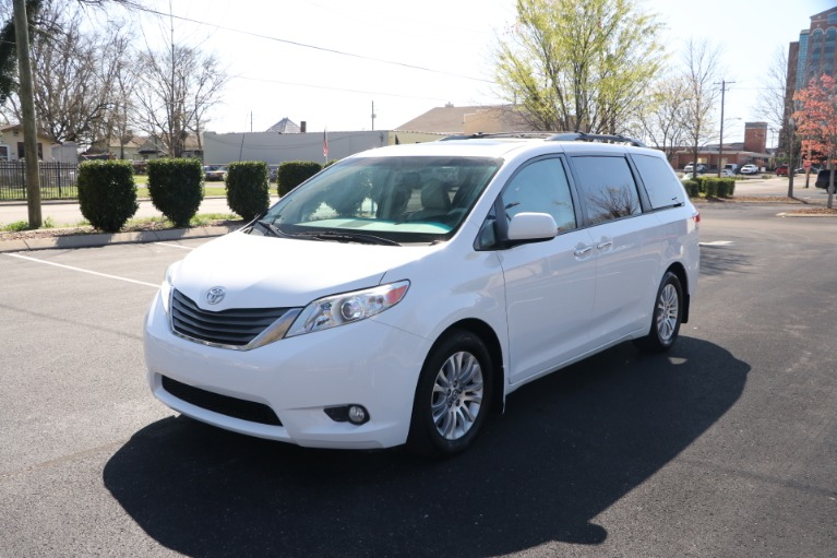 Used 2014 Toyota Sienna XLE FWD 8 PSGR W/NAV for sale Sold at Auto Collection in Murfreesboro TN 37130 2