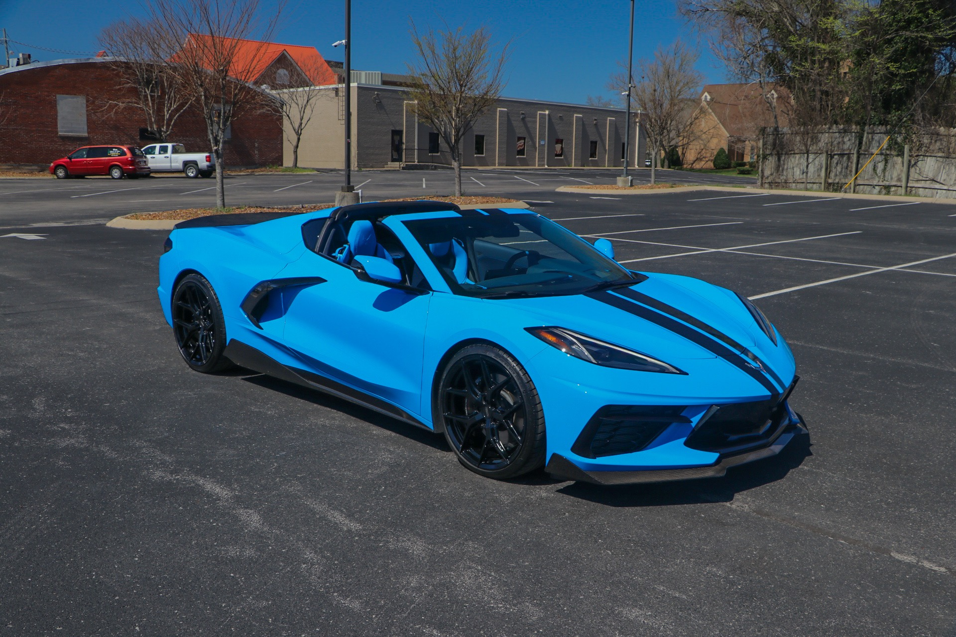 Used 2020 Chevrolet Corvette STINGRAY PERFORMANCE 3LT Z51 W/NAV for sale Sold at Auto Collection in Murfreesboro TN 37130 1
