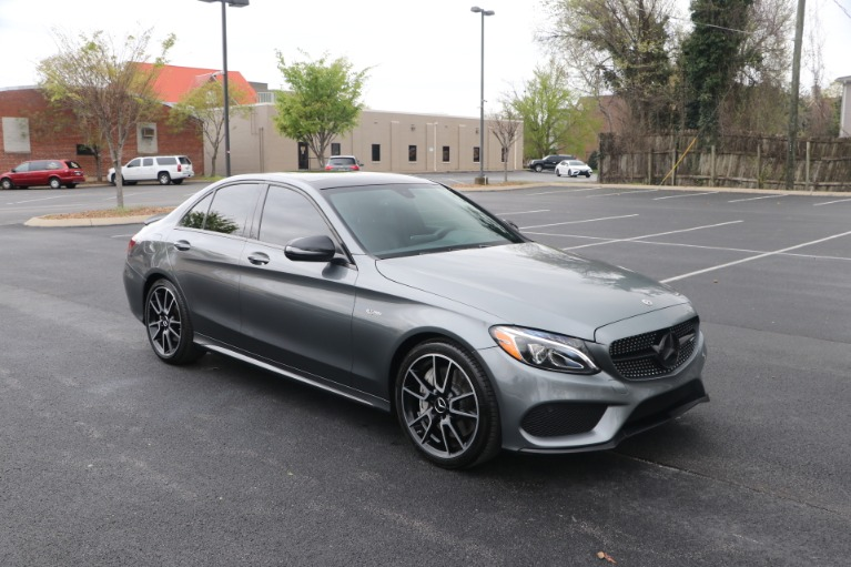 Used 2018 Mercedes-Benz C 43 4MATIC AMG W/NAV for sale Sold at Auto Collection in Murfreesboro TN 37130 1