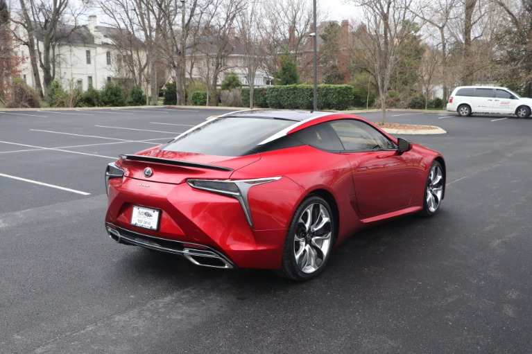 Used 2019 Lexus LC 500 COUPE W/SPORT PKG for sale Sold at Auto Collection in Murfreesboro TN 37130 3