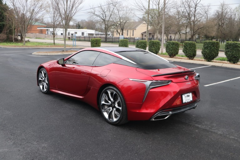 Used 2019 Lexus LC 500 COUPE W/SPORT PKG for sale Sold at Auto Collection in Murfreesboro TN 37130 4