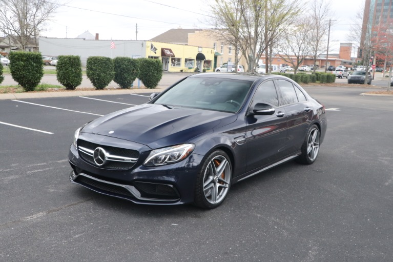 Used 2015 Mercedes-Benz C 63 S AMG W/NAV for sale Sold at Auto Collection in Murfreesboro TN 37130 2
