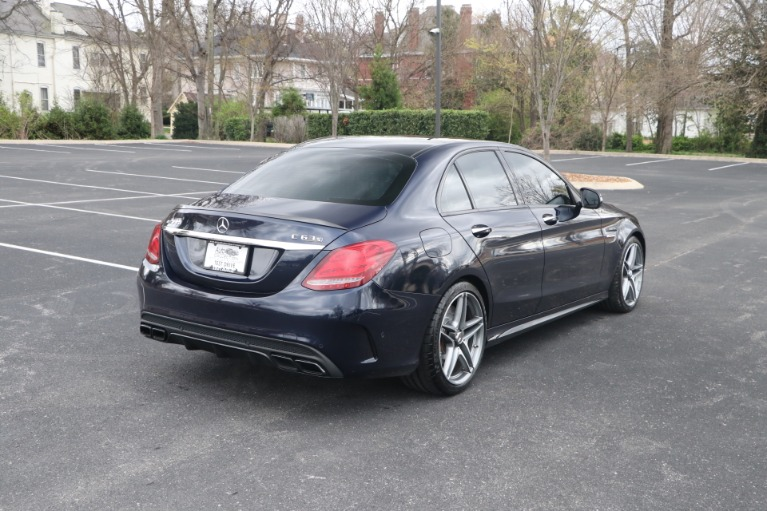 Used 2015 Mercedes-Benz C 63 S AMG W/NAV for sale Sold at Auto Collection in Murfreesboro TN 37130 3