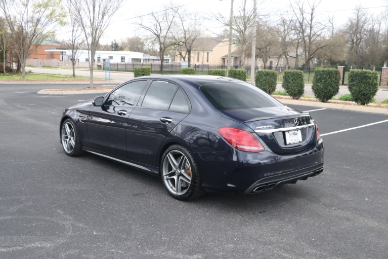 Used 2015 Mercedes-Benz C 63 S AMG W/NAV for sale Sold at Auto Collection in Murfreesboro TN 37130 4