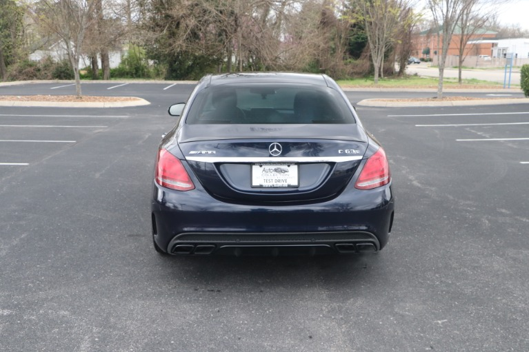 Used 2015 Mercedes-Benz C 63 S AMG W/NAV for sale Sold at Auto Collection in Murfreesboro TN 37130 6