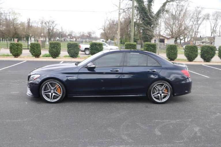 Used 2015 Mercedes-Benz C 63 S AMG W/NAV for sale Sold at Auto Collection in Murfreesboro TN 37130 7