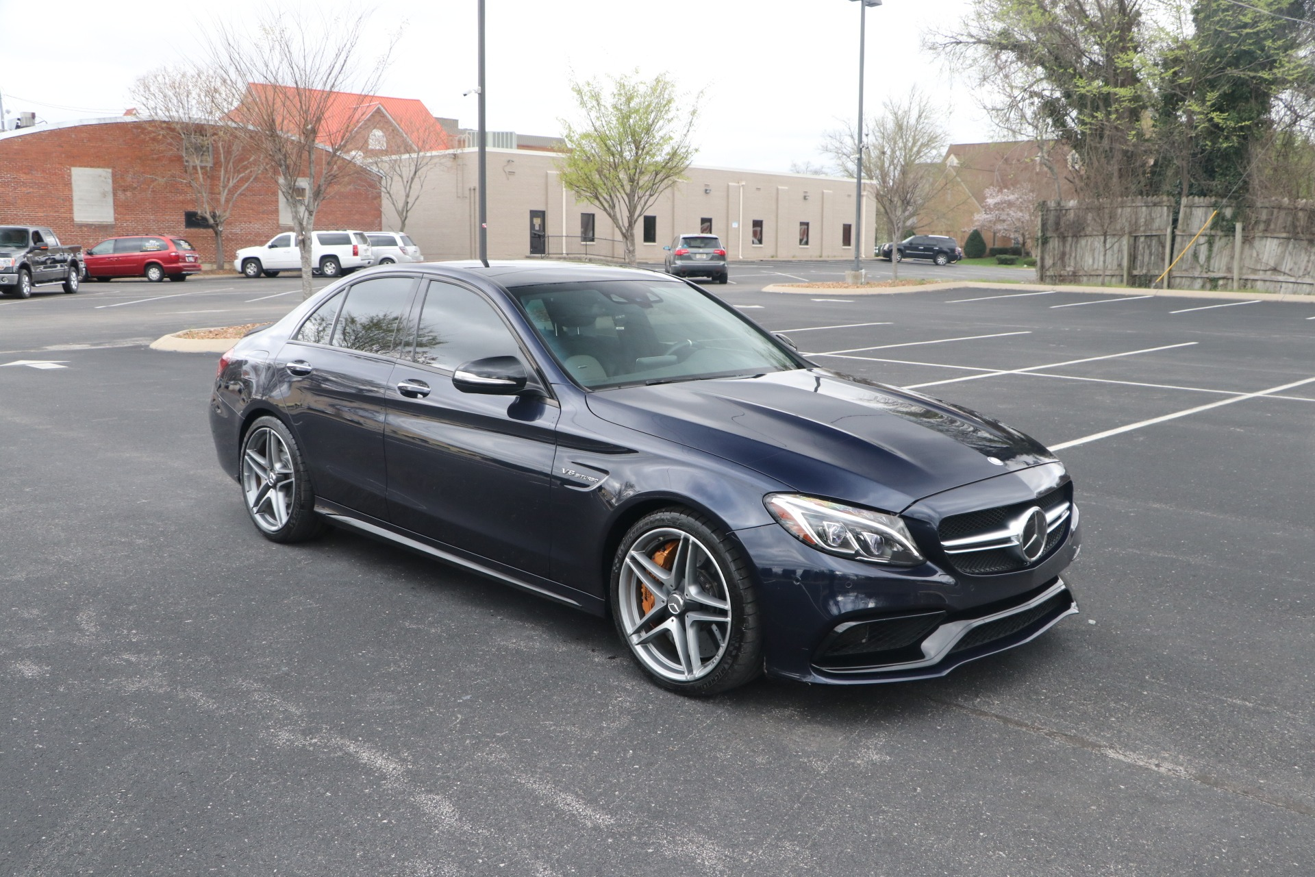 Used 2015 Mercedes-Benz C 63 S AMG W/NAV for sale Sold at Auto Collection in Murfreesboro TN 37130 1