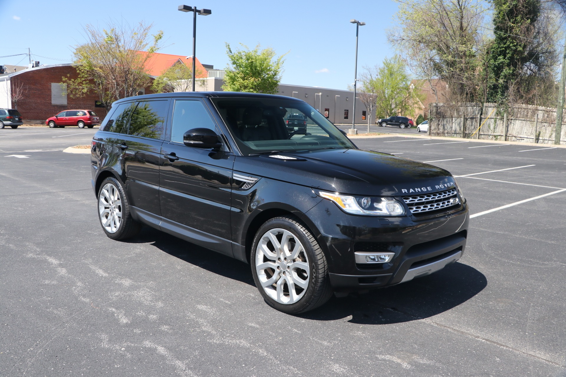 Used 2015 Land Rover Range Rover SPORT HSE 3.0 SUPERCHARGED AWD W/NAV for sale $34,950 at Auto Collection in Murfreesboro TN 37130 1