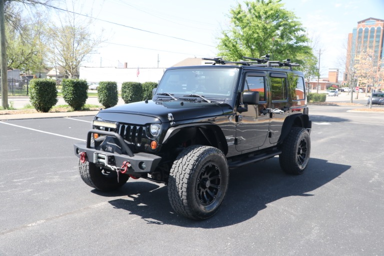 Used 2011 Jeep Wrangler UNLIMITED SAHARA 4X4 W/NAV for sale Sold at Auto Collection in Murfreesboro TN 37130 2