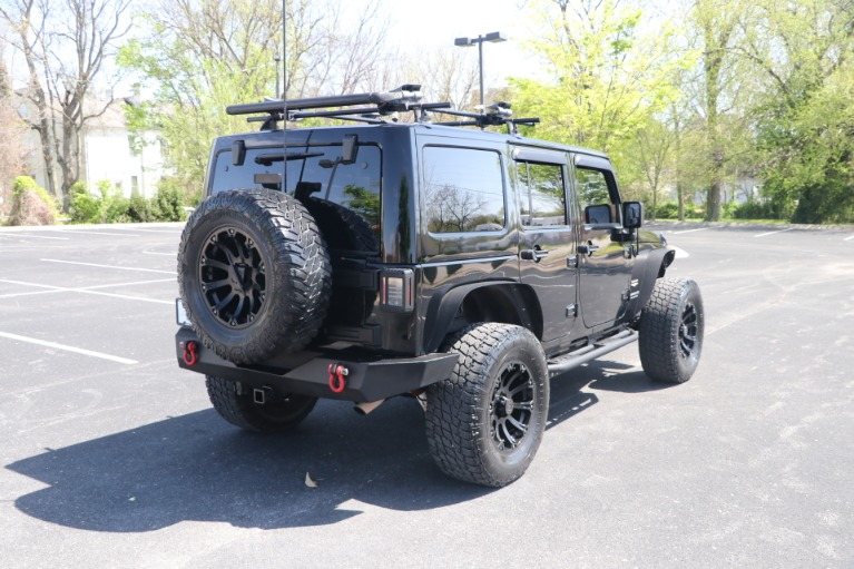 Used 2011 Jeep Wrangler UNLIMITED SAHARA 4X4 W/NAV for sale Sold at Auto Collection in Murfreesboro TN 37130 3