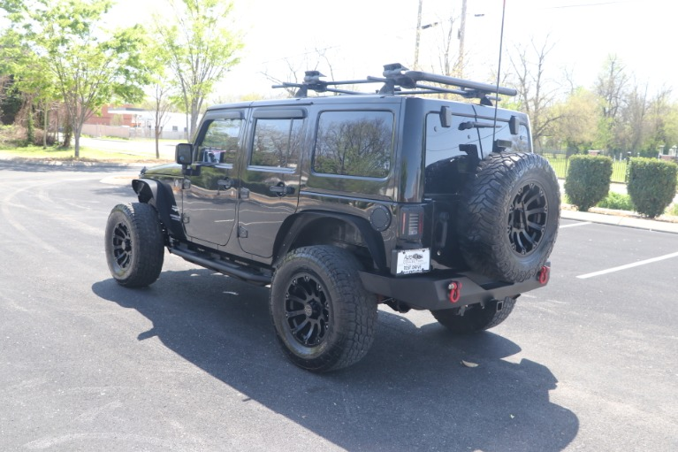 Used 2011 Jeep Wrangler UNLIMITED SAHARA 4X4 W/NAV for sale Sold at Auto Collection in Murfreesboro TN 37130 4