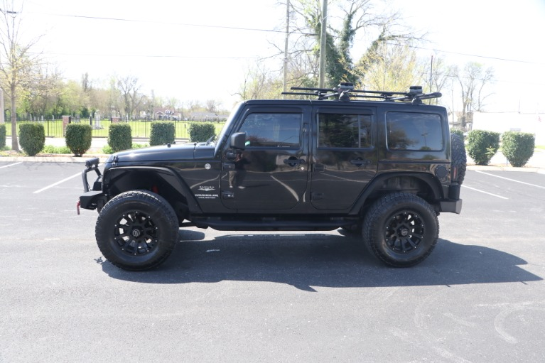 Used 2011 Jeep Wrangler UNLIMITED SAHARA 4X4 W/NAV for sale Sold at Auto Collection in Murfreesboro TN 37130 7