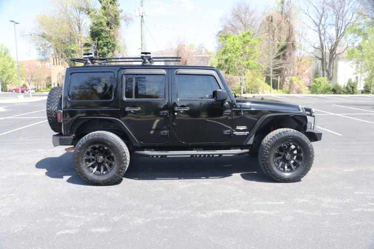 Used 2011 Jeep Wrangler UNLIMITED SAHARA 4X4 W/NAV for sale Sold at Auto Collection in Murfreesboro TN 37130 8