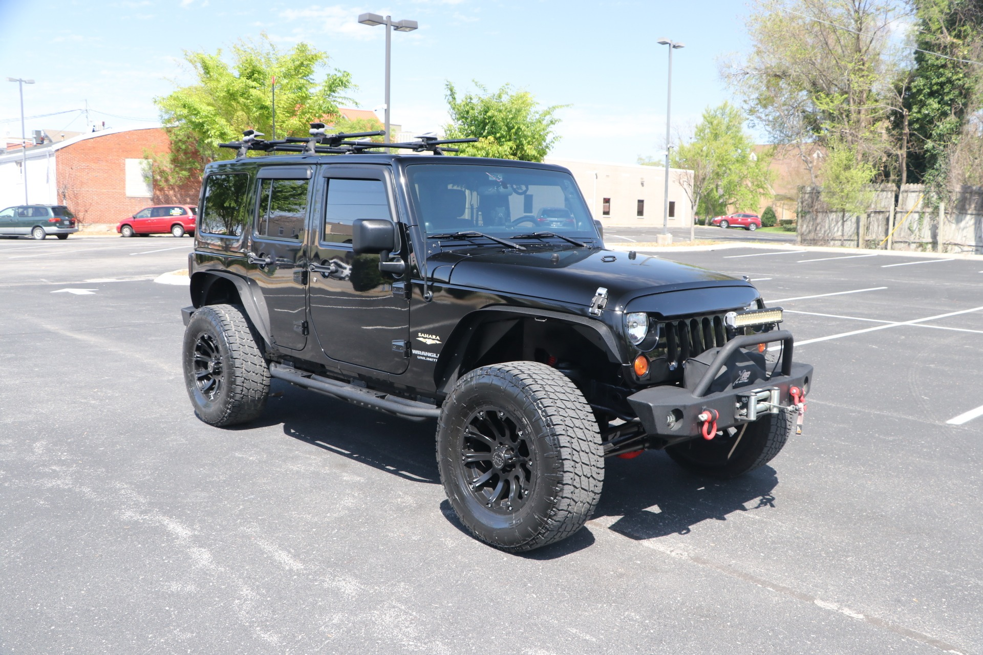 Used 2011 Jeep Wrangler UNLIMITED SAHARA 4X4 W/NAV for sale Sold at Auto Collection in Murfreesboro TN 37130 1