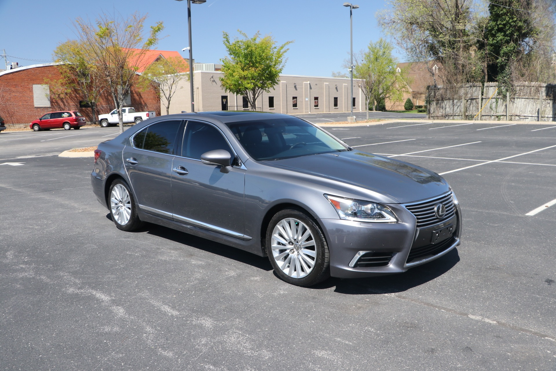 Used 2014 Lexus LS 460 COMFORT AWD W/NAV for sale Sold at Auto Collection in Murfreesboro TN 37130 1