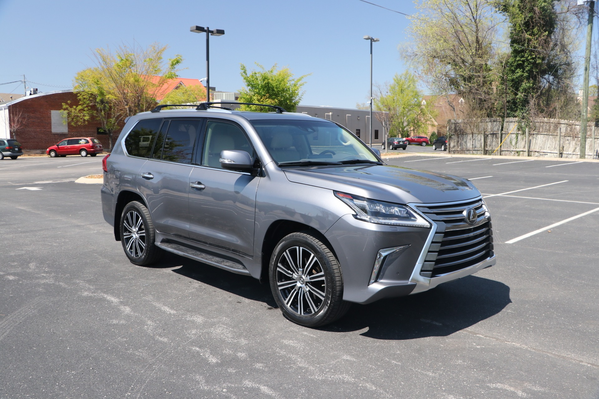 Used 2018 Lexus LX 570 LUXURY AWD W/NAV TV DVD for sale Sold at Auto Collection in Murfreesboro TN 37130 1