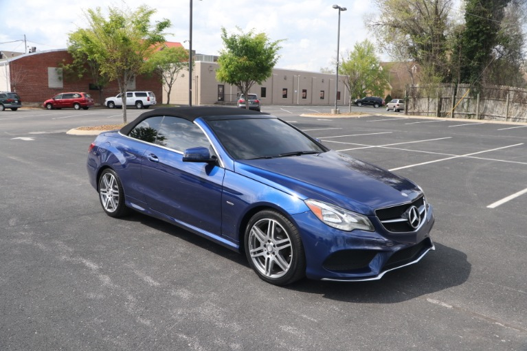 Used 2017 Mercedes-Benz E400 CABRIOLET RWD W/NAV for sale $38,950 at Auto Collection in Murfreesboro TN 37130 2