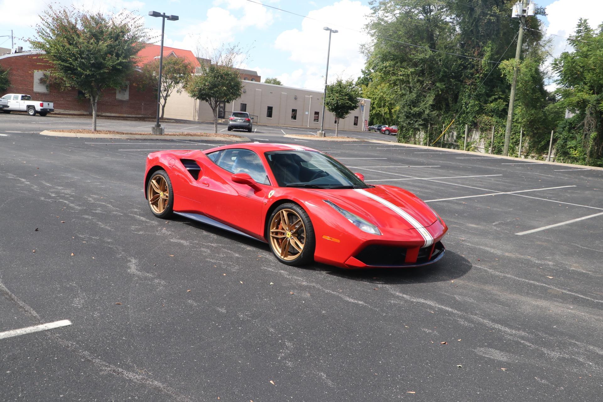 Used 2019 Ferrari 488 GTB W/NAV for sale $449,500 at Auto Collection in Murfreesboro TN 37130 1