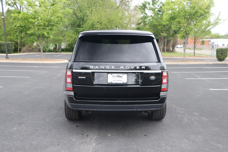 Used 2016 Land Rover Range Rover 5.0 SUPERCHARGED AWD W/NAV for sale $54,950 at Auto Collection in Murfreesboro TN 37130 6