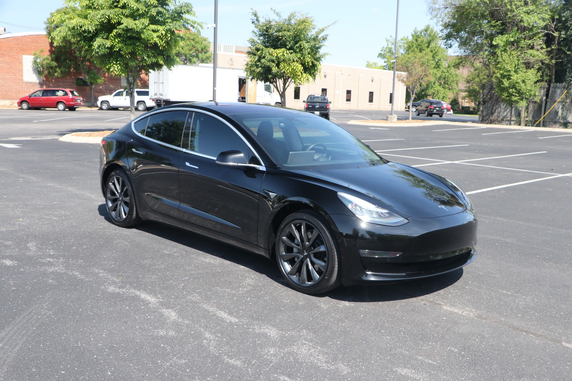 Used 2019 Tesla Model 3 STANDARD RANGE PLUS W/NAV for sale Sold at Auto Collection in Murfreesboro TN 37130 1