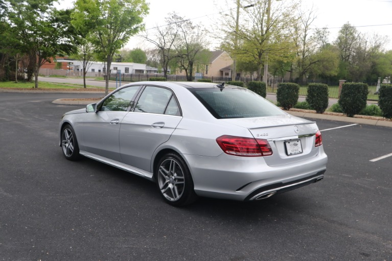 Used 2016 Mercedes-Benz E400 4MATIC W/PANORAMIC ROOF for sale $28,950 at Auto Collection in Murfreesboro TN 37130 4