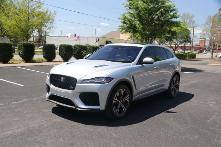 Used 2020 Jaguar F-PACE SVR LUXURY AWD W/NAV for sale Sold at Auto Collection in Murfreesboro TN 37130 2