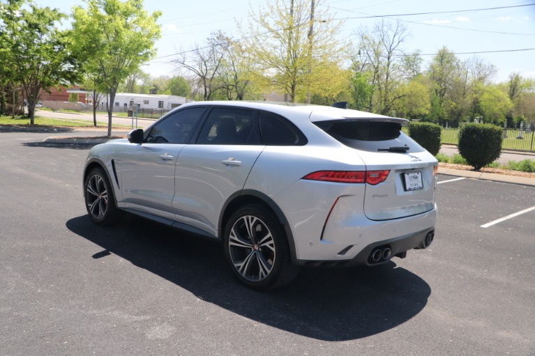 Used 2020 Jaguar F-PACE SVR LUXURY AWD W/NAV for sale Sold at Auto Collection in Murfreesboro TN 37130 4