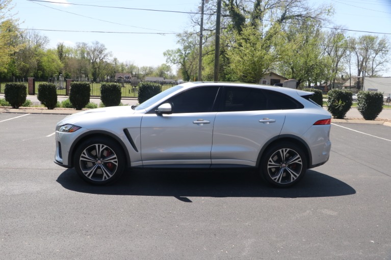 Used 2020 Jaguar F-PACE SVR LUXURY AWD W/NAV for sale Sold at Auto Collection in Murfreesboro TN 37130 7